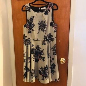 Apt. 9 Fit and Flare Floral Dress